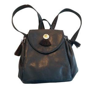 Scarlett Vintage distressed leather backpack